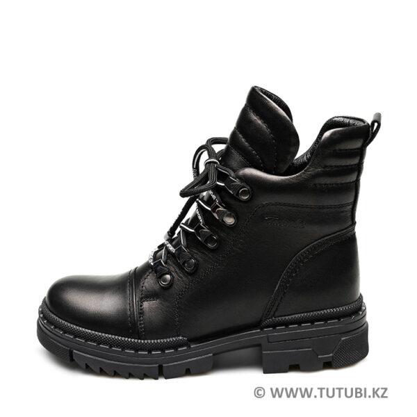 Ботинки из натурального меха и кожи черные MP002XG01DISR MP002XG01DIQR